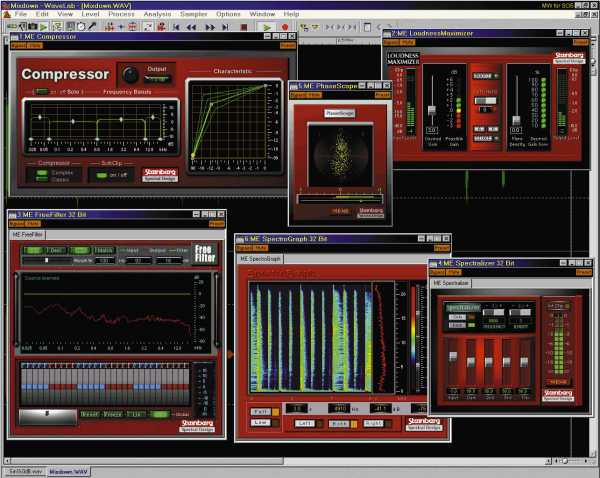 Steinberg Mastering Edition Enhanced 2002 VST DXi WiN ZONE | Images From Magesy® R Evolution™