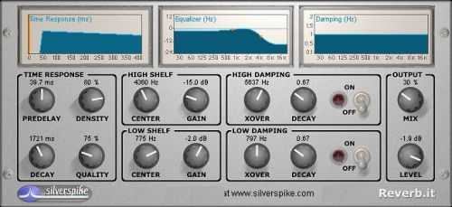 Silverspike Reverb It VST 1.2 WiN peace out | Images From Magesy® R Evolution™