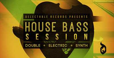 House Bass Session WAV | Images From Magesy® R Evolution™