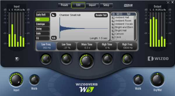 WizooVerb W5 v1.0 VST WiN + Impulses AiR | Images From Magesy® R Evolution™