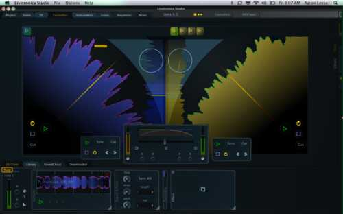 Livetronica Studio v.1.0.0b5 MAC OSX | Images From Magesy® R Evolution™