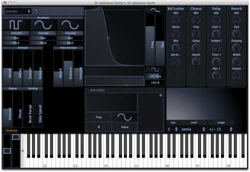 Addiction Synth v.2.0 VSTi MAC OSX | Images From Magesy® R Evolution™