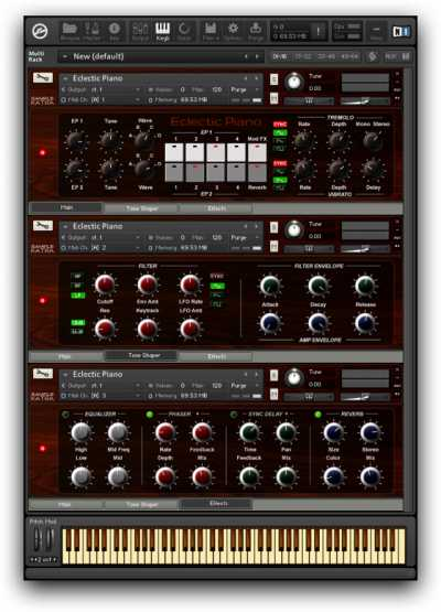 Eclectic Piano KONTAKT | Images From Magesy® R Evolution™