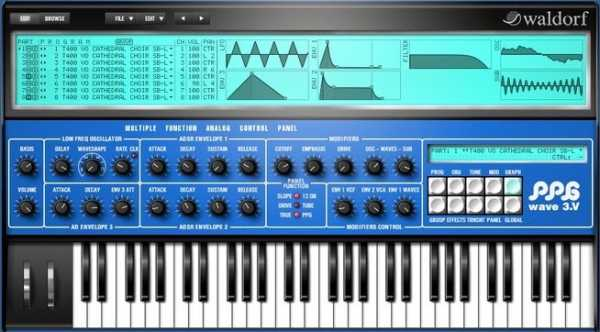 Waldorf PPG Wave 3.V v1.2.x WiN MAC R2R | Images From Magesy® R Evolution™