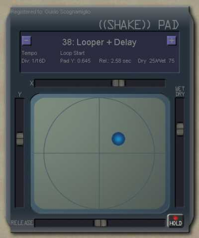 GSi Shake Pad v1.1 VST WiN ASSiGN | Images From Magesy® R Evolution™