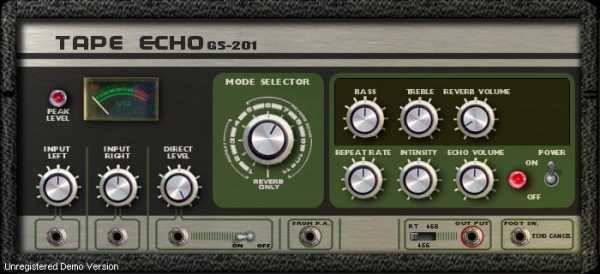 GS 201 Tape Echo v1.2.0 VST x86 x64 WiN | Images From Magesy® R Evolution™