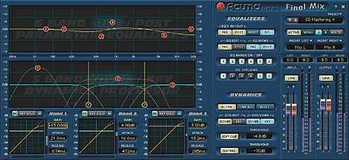 Mackie Acuma Labs FinalMix v.1.01 VST WiN TALiO | Images From Magesy® R Evolution™