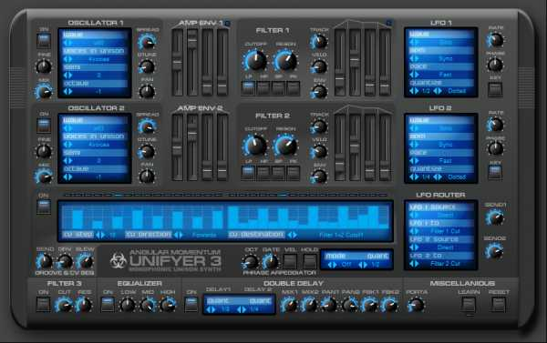 Unifyer 3 Synth VSTi Plugin for WiNDOWS | Images From Magesy® R Evolution™
