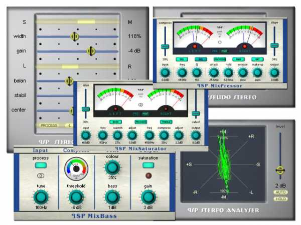 PSP StereoPack v1.9.9 AAX RTAS VST WiN READ NFO CHAOS | Images From Magesy® R Evolution™