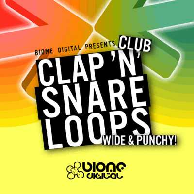 Club Clap and Snare Loops KONTAKT MAGNETRiXX | Images From Magesy® R Evolution™