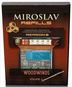 Sonic Reality Miroslav Refills Vol.6 Woodwinds REFiLL DVDR DYNAMiCS | Images From Magesy® R Evolution™