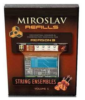 Sonic Reality Miroslav Refills Vol.5 String Ensembles REFiLL DVDR DYNAMiCS | Images From Magesy® R Evolution™