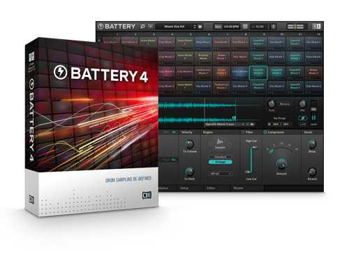 Battery 4 v4.1.5 STANDALONE AU VST MAC OSX UPDATE   Images From Magesy® R Evolution™