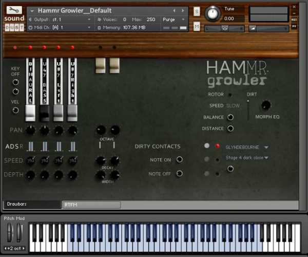 Hammr Growler KONTAKT | Images From Magesy® R Evolution™