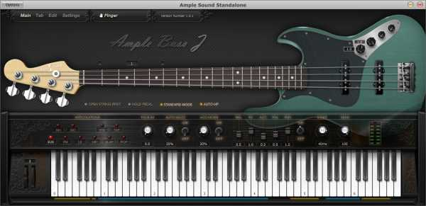 Ample Bass ABJ v2.2.0 WiN MAC R2R | Images From Magesy® R Evolution™
