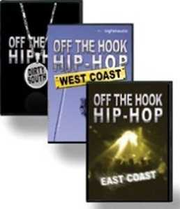 Big Fish Audio Off The Hook Hip Hop Bundle AiFF WAV REX | Images From Magesy® R Evolution™
