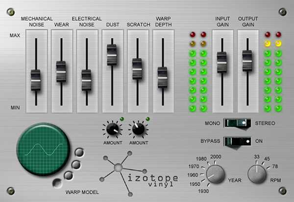 iZ Vinyl v1.7.3b x86 AU RTAS AS HTDM VST MAS DXi WiN MAC | Images From Magesy® R Evolution™