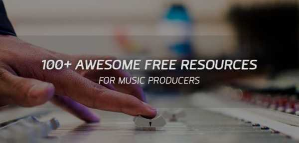 Free Online Resources For Music Producers | Images From Magesy® R Evolution™