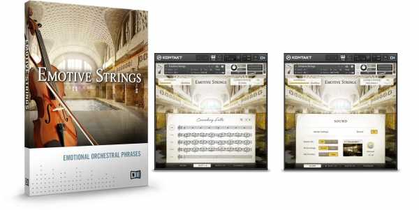 EMOTiVE STRiNGS KONTAKT SYNTHiC4TE   Images From Magesy® R Evolution™