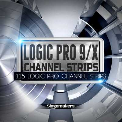 Logic Pro 9 X Channel Strips AUDIOSTRiKE | Images From Magesy® R Evolution™
