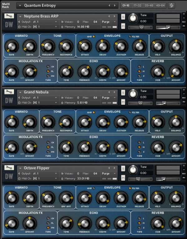 The Blue Zone KONTAKT | Images From Magesy® R Evolution™