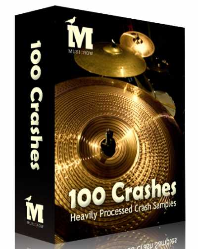100 Crashes Maschine Ableton WAV MAGNETRiXX | Images From Magesy® R Evolution™