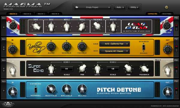 MAGMA v1.6.6 AU VST RTAS AAX WiN MAC R2R   Images From Magesy® R Evolution™