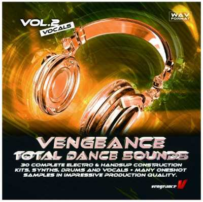 Total Dance Sounds Vol.2   Vocals WAV | Images From Magesy® R Evolution™