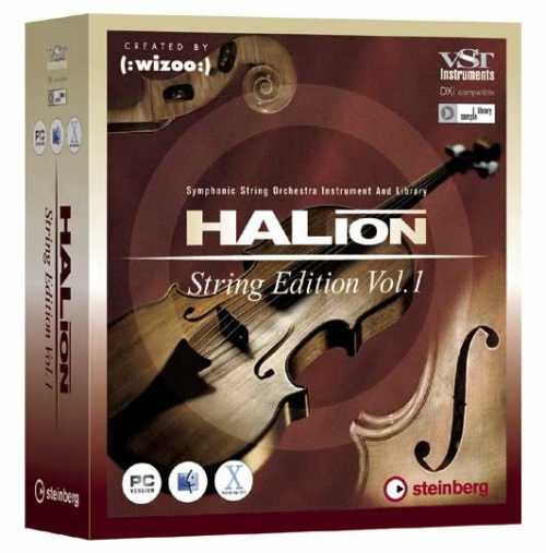 HALion String Edition iSO+8CD Library DELiRiUM | Images From Magesy® R Evolution™