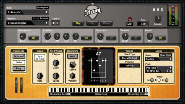 Strum GS 2 v2.2.4 AAX AU VST VSTi RTAS WiN MAC AiR | Images From Magesy® R Evolution™