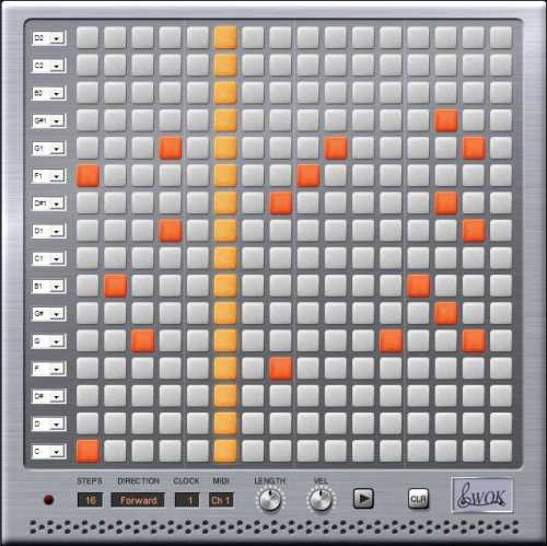 WOK Blip2000 Matrixsequencer v1.0 VSTi WiN ASSiGN | Images From Magesy® R Evolution™