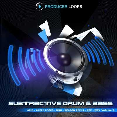 Subtractive Drum and Bass Vol.2 ACiD WAV MiDi AUDIOSTRiKE | Images From Magesy® R Evolution™