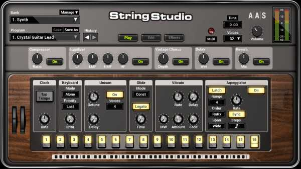 String Studio VS 2 v2.1.2 AU RTAS AAX VSTi WiN MAC OSX | Images From Magesy® R Evolution™