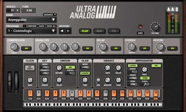 Ultra Analog VA 2 v2.2.3 AAX AU VST RTAS VSTi WiN MAC OSX | Images From Magesy® R Evolution™