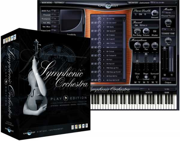 EWQL Symphonic Orchestra Woodwinds Library VSTi DXi RTAS AU DVDR DELiRiUM | Images From Magesy® R Evolution™