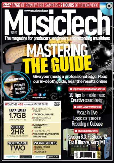 MusicTech   August 2015 | Images From Magesy® R Evolution™