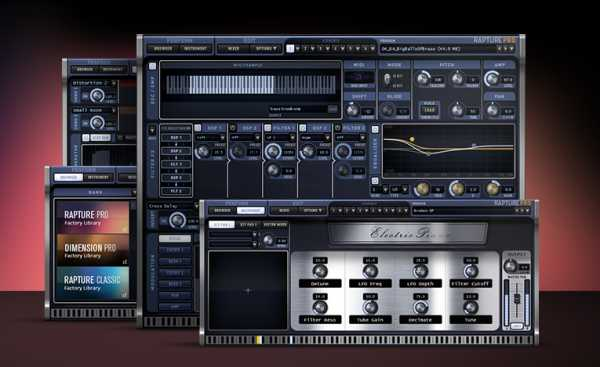 Cakewalk Rapture Pro v2.0.5.8x WiN MAC R2R | Images From Magesy® R Evolution™