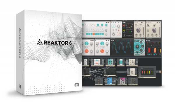 Reaktor 6 v6.3.1 VSTi STANDALONE WiN R2R | Images From Magesy® R Evolution™