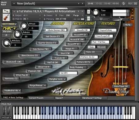 Pop Rock Strings TVEC3 4 KONTAKT KRock | Images From Magesy® R Evolution™