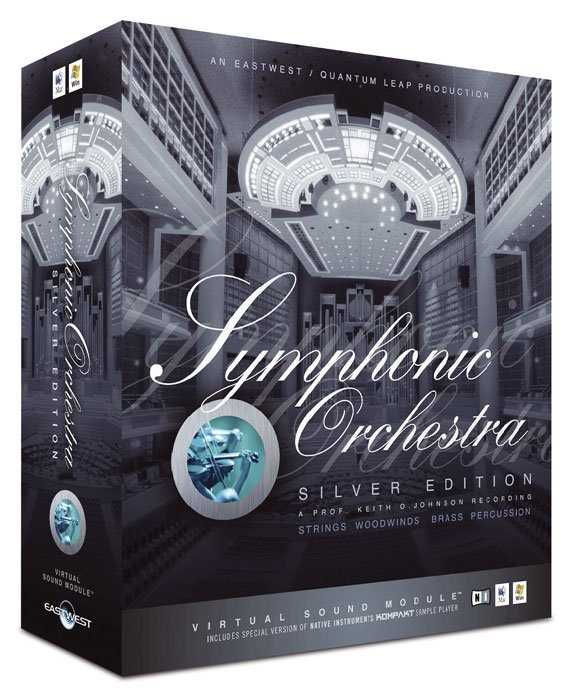 EWQL Symphonic Orchestra Silver Edition DVDR CoBaLT | Images From Magesy® R Evolution™