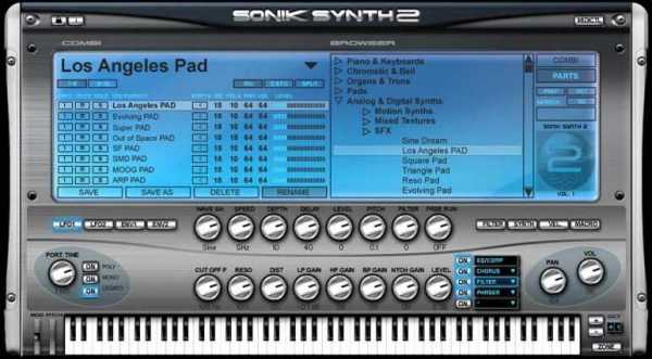 Sonik Synth 2 VSTi DXi RTAS AU WiN MAC FULL ISO | Images From Magesy® R Evolution™