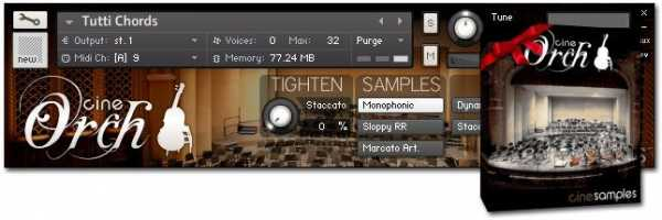 CineOrch KONTAKT AudioP2P | Images From Magesy® R Evolution™