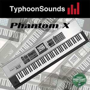 TyphoonSounds Phantom X KONTAKT AudioP2P | Images From Magesy® R Evolution™