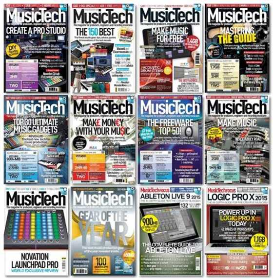 MusicTech   2015 Full Year Issues Collection | Images From Magesy® R Evolution™