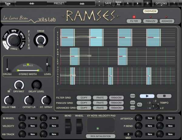 R.A.M.S.E.S. AAX AU VST VSTi RTAS x86 x64 WiN MAC | Images From Magesy® R Evolution™