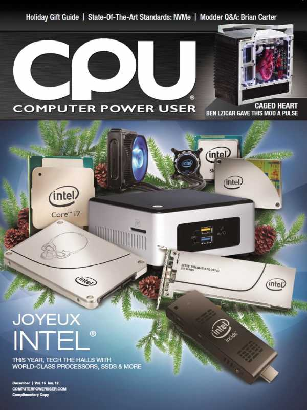 Computer Power User December 2015 P2P | Images From Magesy® R Evolution™
