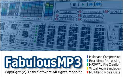 FabulousMP3 MULTi BAND Compression v.3.01 and Portable WiN | Images From Magesy® R Evolution™