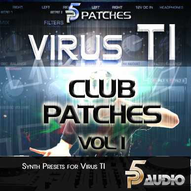 Electronic Club Patches Vol.1 For Virus TI | Images From Magesy® R Evolution™