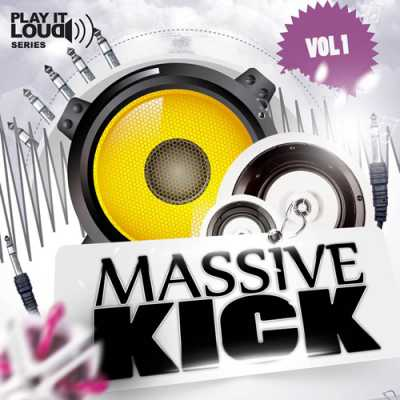Massive Kick Vol.1 WAV DiSCOVER | Images From Magesy® R Evolution™