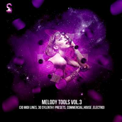 Melody Tools Vol.3 WAV Sylenth1 Presets MiDi | Images From Magesy® R Evolution™